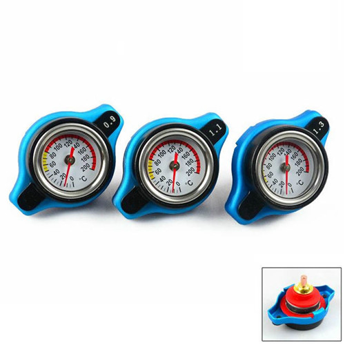 Genuine Thermostatic Gauge Radiator Cap with Water Temp Gauge